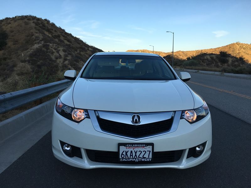 used 2010 acura tsx for sale by owner in granada hills ca 91394. Black Bedroom Furniture Sets. Home Design Ideas