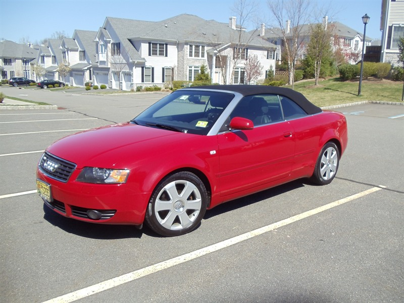 2005 audi a4 cabriolet quattro sale by owner in roseland. Black Bedroom Furniture Sets. Home Design Ideas