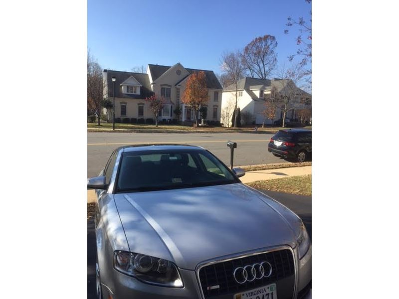 used 2008 audi a4 for sale by owner in vienna va 22185. Black Bedroom Furniture Sets. Home Design Ideas