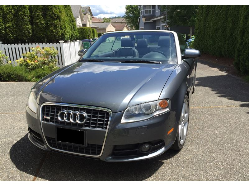 2009 audi a4 private car sale in redmond wa 98052. Black Bedroom Furniture Sets. Home Design Ideas