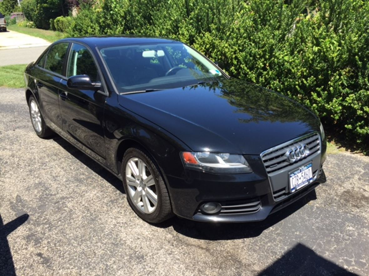 2011 audi a4 for sale by owner in northport ny 11768. Black Bedroom Furniture Sets. Home Design Ideas