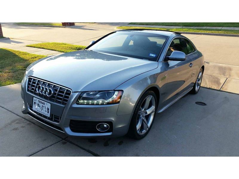 2009 audi a5 for sale by owner in denton tx 76209. Black Bedroom Furniture Sets. Home Design Ideas