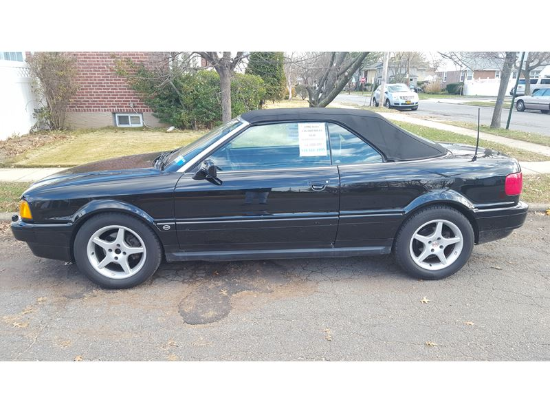 1996 audi cabriolet for sale by owner in mineola ny 11501. Black Bedroom Furniture Sets. Home Design Ideas