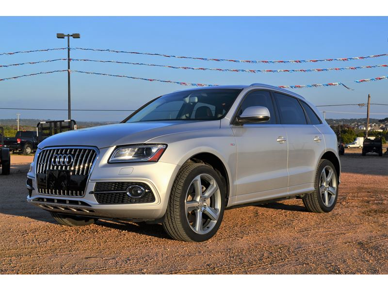 2014 audi q5 for sale by owner in leander tx 78645. Black Bedroom Furniture Sets. Home Design Ideas