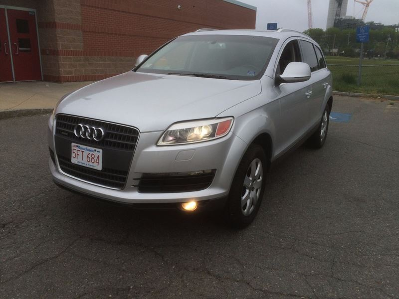 used 2007 audi q7 for sale by owner in boston ma 02127. Black Bedroom Furniture Sets. Home Design Ideas