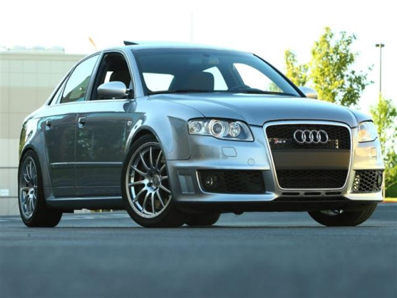 2008 audi rs 4 private car sale in woodinville wa 98077. Black Bedroom Furniture Sets. Home Design Ideas