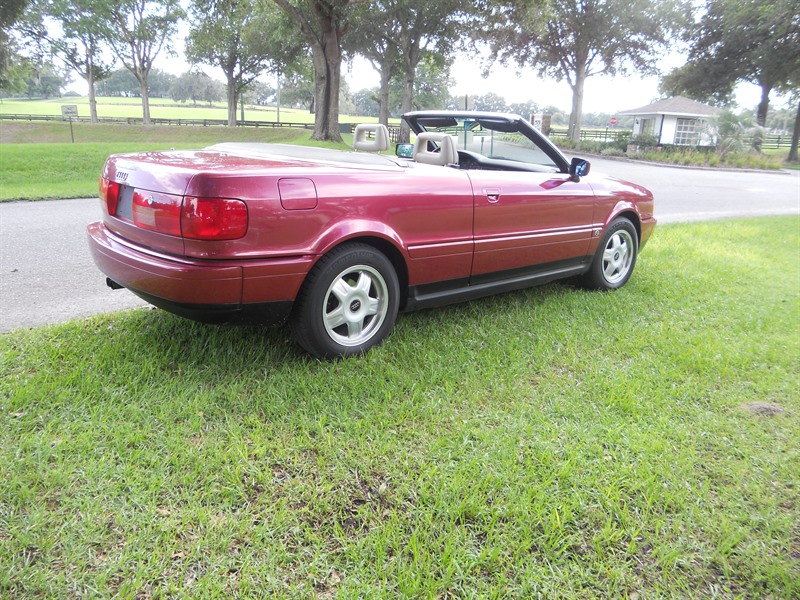 1994 audi s5 cabriolet for sale by owner in ocala fl 34483. Black Bedroom Furniture Sets. Home Design Ideas