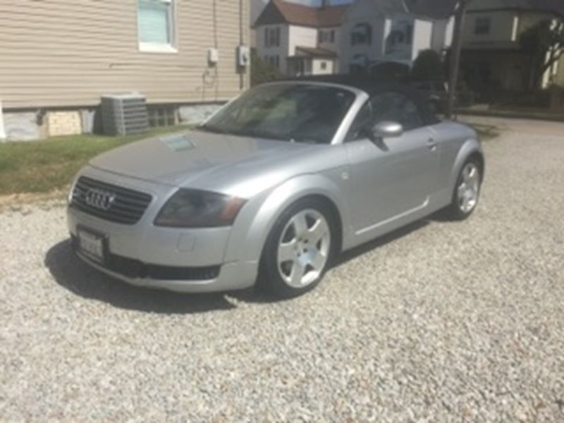2001 audi tt for sale by owner in washington pa 15301. Black Bedroom Furniture Sets. Home Design Ideas