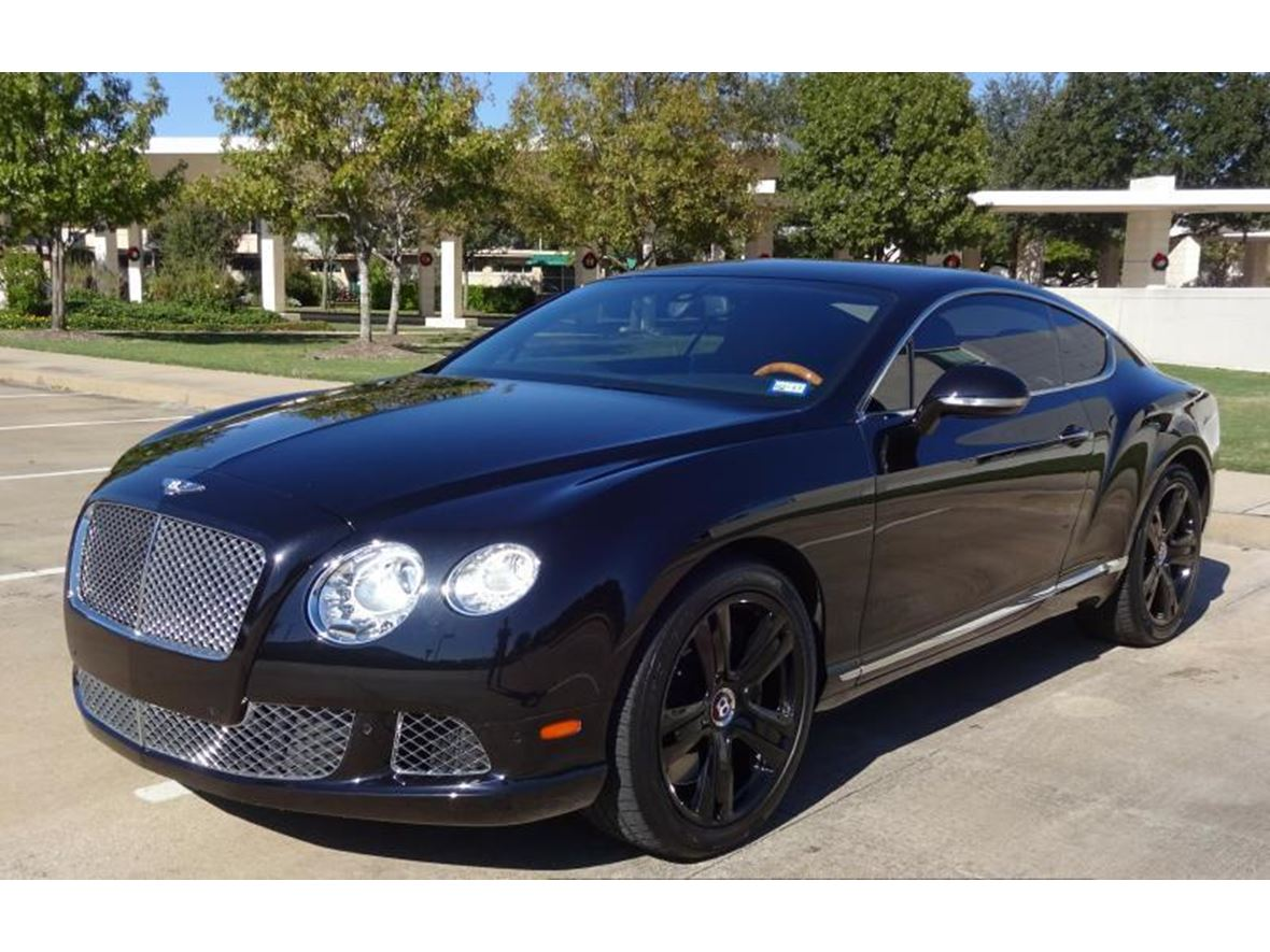 2012 bentley continental for sale by owner in austin tx 78735. Black Bedroom Furniture Sets. Home Design Ideas