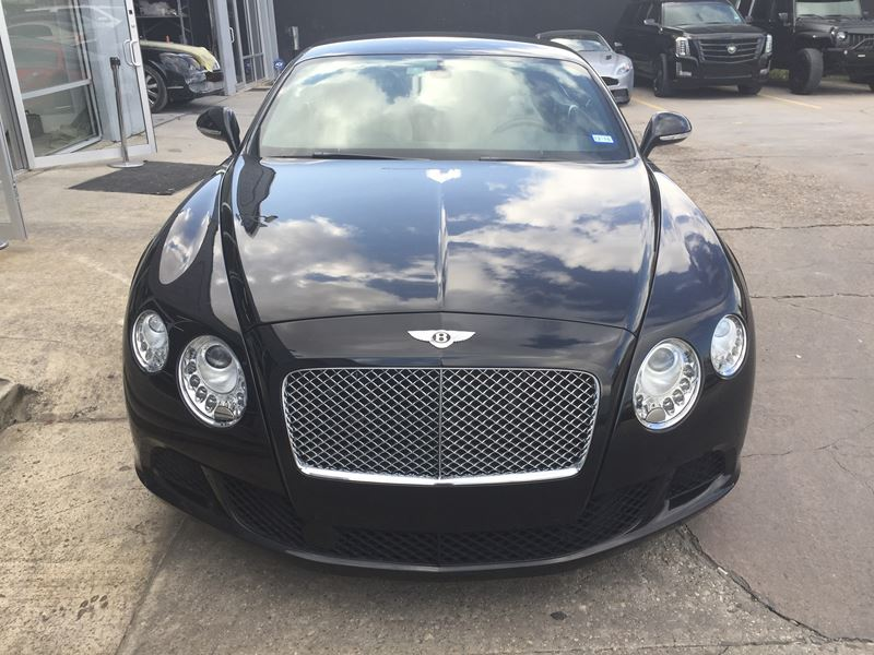 2012 bentley continental gt sale by owner in houston tx 77299. Black Bedroom Furniture Sets. Home Design Ideas
