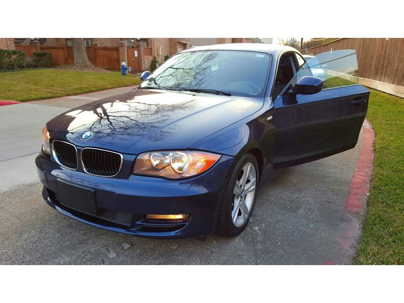 used 2011 bmw 1 series for sale by owner in houston tx 77299. Black Bedroom Furniture Sets. Home Design Ideas