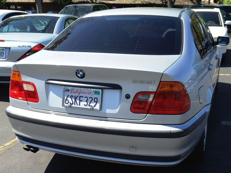 2001 bmw 325i for sale by owner in fresno ca 93722. Black Bedroom Furniture Sets. Home Design Ideas