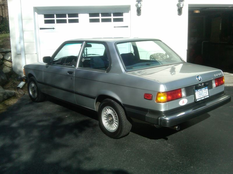 1982 bmw 3 series classic car by owner in new york ny 10286. Cars Review. Best American Auto & Cars Review