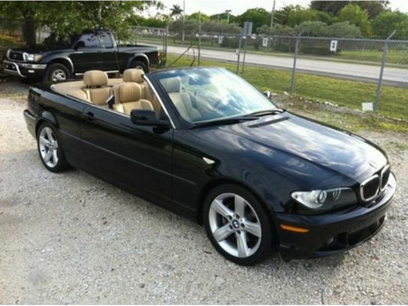 2006 bmw 325ci for sale by owner in fort myers fl 33994. Black Bedroom Furniture Sets. Home Design Ideas