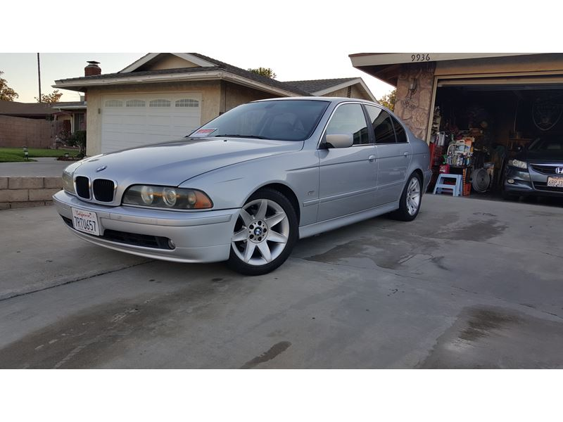 used 2003 bmw 5 series for sale by owner in fontana ca 92331. Black Bedroom Furniture Sets. Home Design Ideas