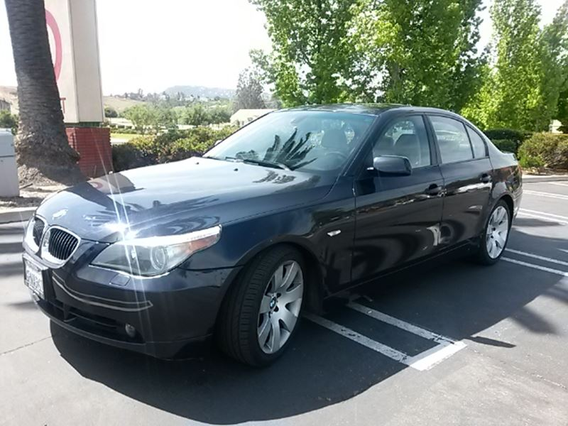 used 2006 bmw 5 series for sale by owner in temecula ca 92590. Cars Review. Best American Auto & Cars Review