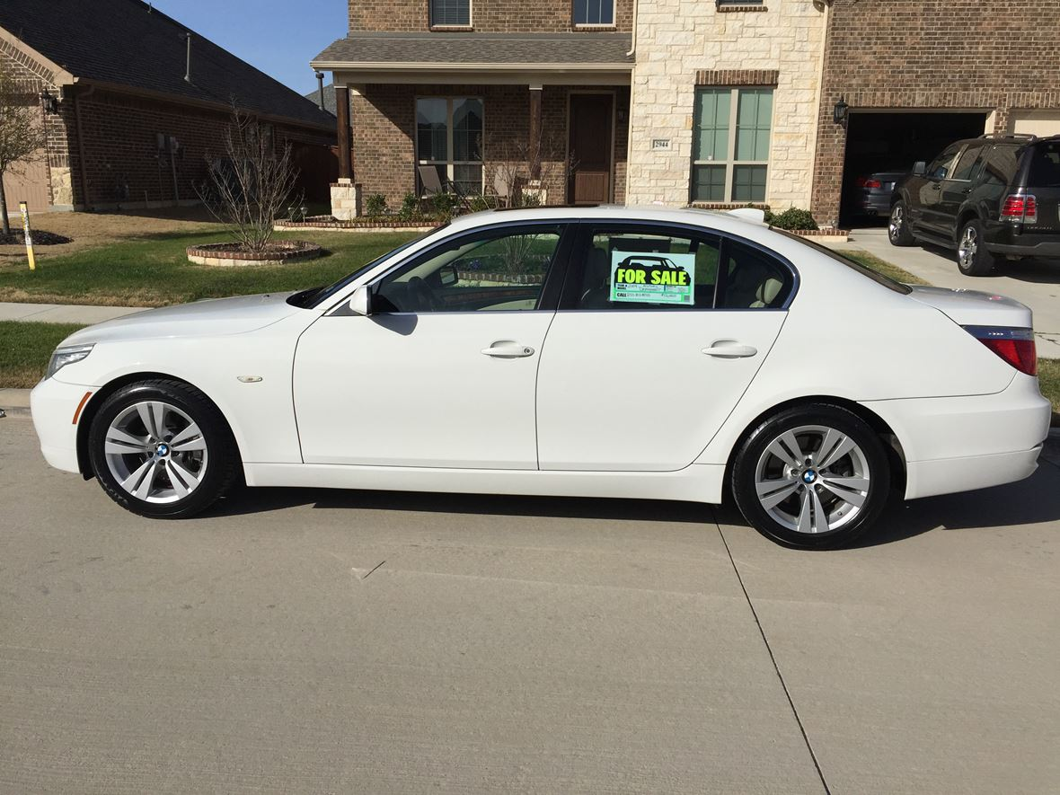 2009 bmw 5 series for sale by owner in grand prairie tx 75054. Black Bedroom Furniture Sets. Home Design Ideas