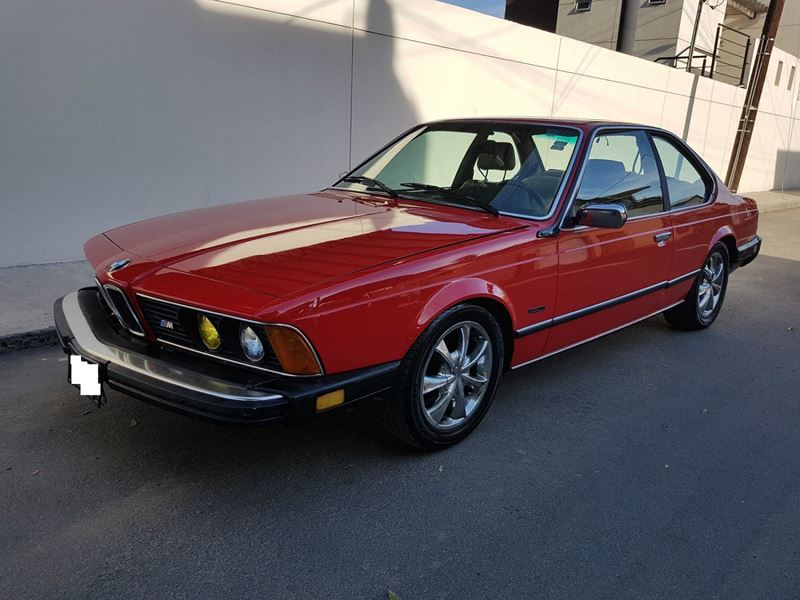 1985 bmw 6 series classic car by owner in san jose ca 95192. Cars Review. Best American Auto & Cars Review