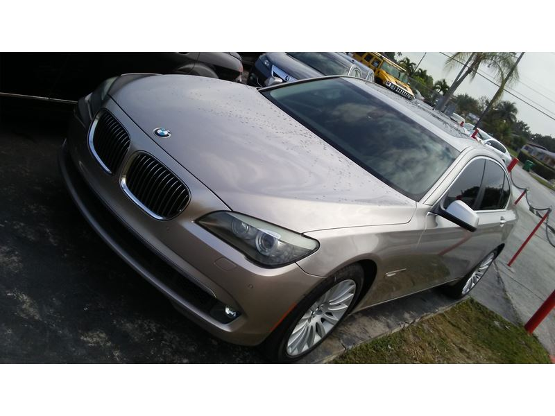 2010 bmw 750i for sale by owner in miami fl 33191. Black Bedroom Furniture Sets. Home Design Ideas