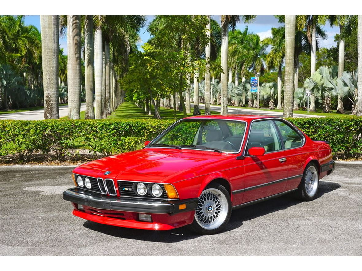 1987 BMW M6 for sale by owner in Chicago