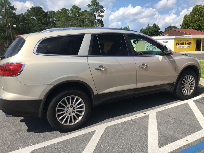 2008 buick enclave for sale by owner in panama city fl 32417. Black Bedroom Furniture Sets. Home Design Ideas