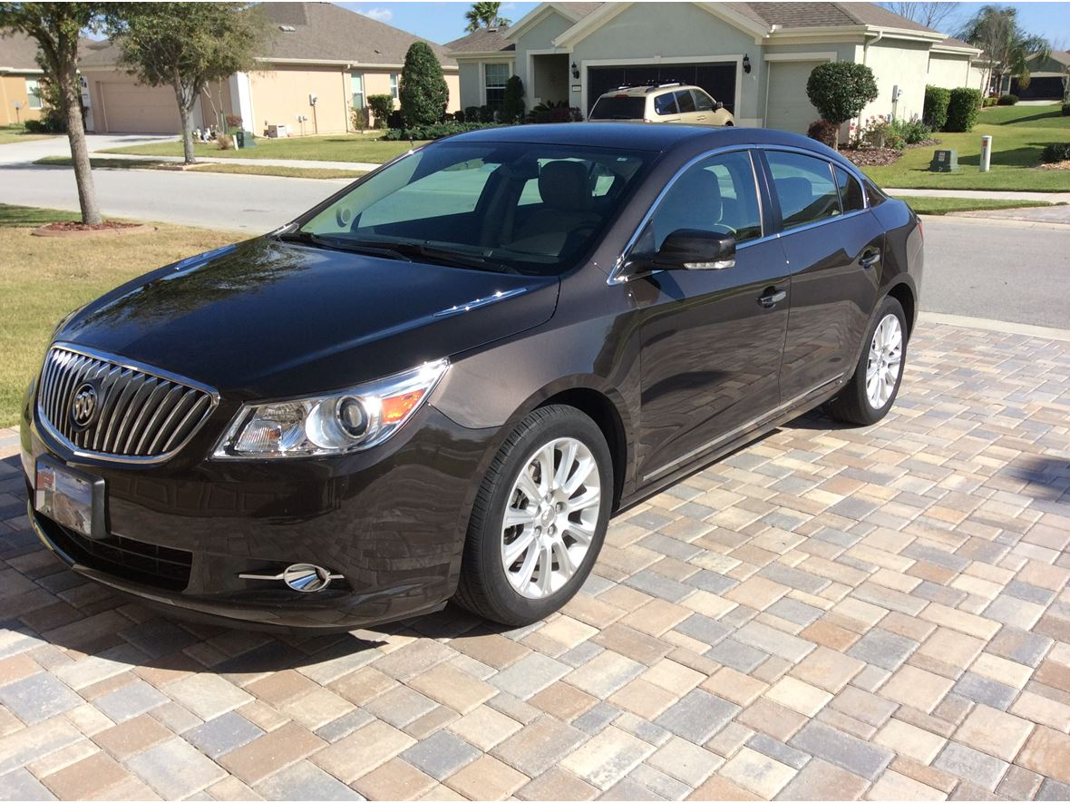 used 2013 buick lacrosse for sale by owner in ocala fl 34483. Black Bedroom Furniture Sets. Home Design Ideas