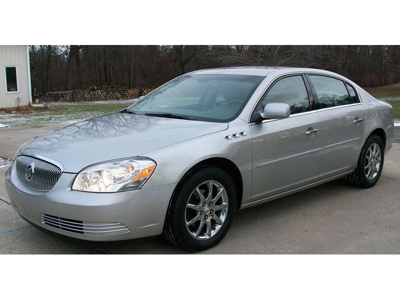 used 2007 buick lucerne for sale by owner in jackson mi 49204. Black Bedroom Furniture Sets. Home Design Ideas