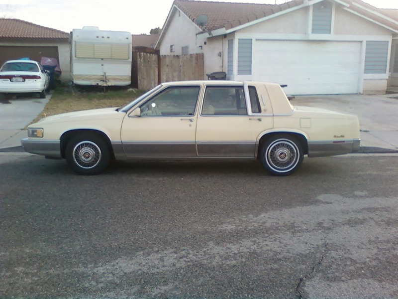 1990 cadillac deville classic car by owner in palmdale. Cars Review. Best American Auto & Cars Review