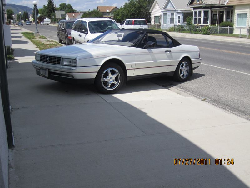 1990 cadillac allante for sale by owner in anaconda mt. Cars Review. Best American Auto & Cars Review