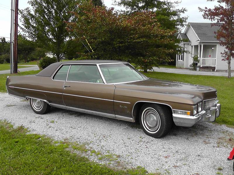 1971 cadillac coupe deville antique car hendersonville. Black Bedroom Furniture Sets. Home Design Ideas