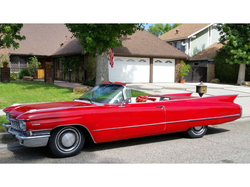 1960 cadillac deville classic car for sale by owner in los angeles ca 90103. Black Bedroom Furniture Sets. Home Design Ideas