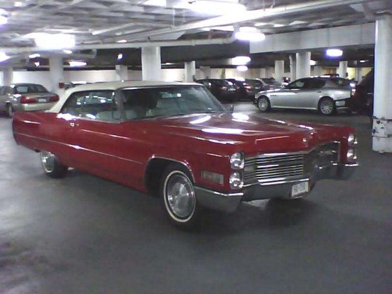 1966 cadillac deville convertible antique car new york ny 10286. Black Bedroom Furniture Sets. Home Design Ideas