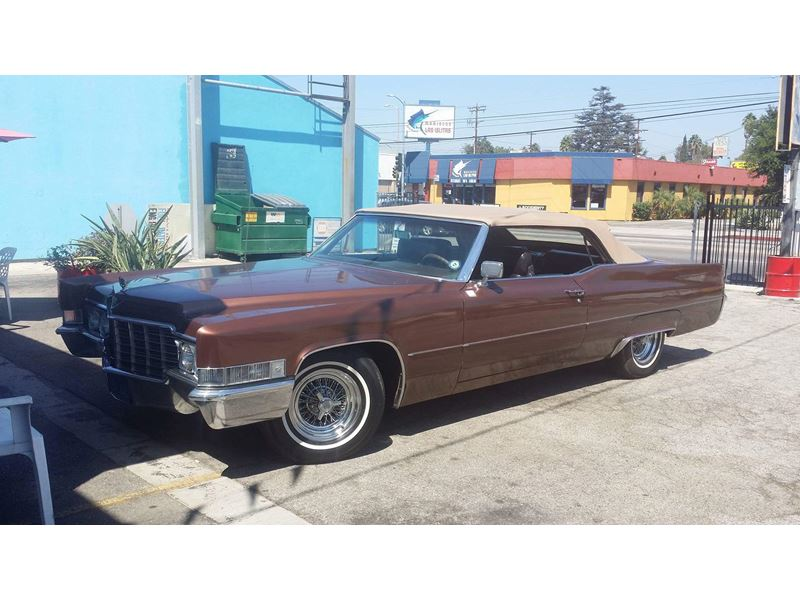1969 Cadillac Deville Antique Car Van Nuys Ca 91499