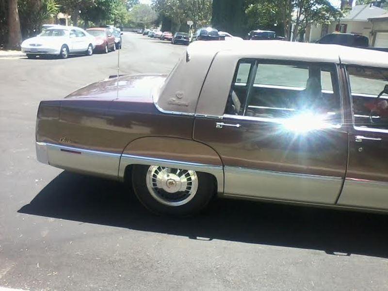 1989 Cadillac Fleetwood Classic Car Sherman Oaks Ca 91495