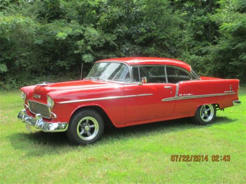 1955 Chevrolet Bel Air 150 210 Antique Car Coleman