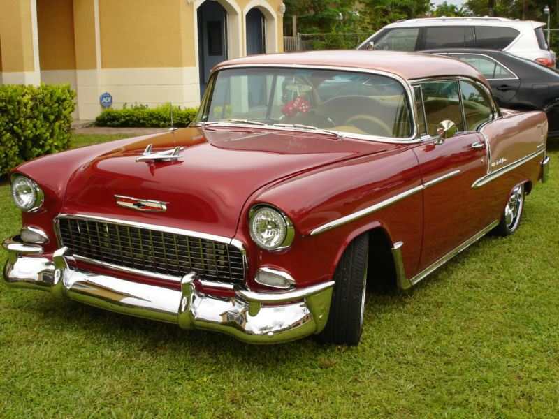 1955 Chevrolet Bel Air 150 210 Classic Car By Owner