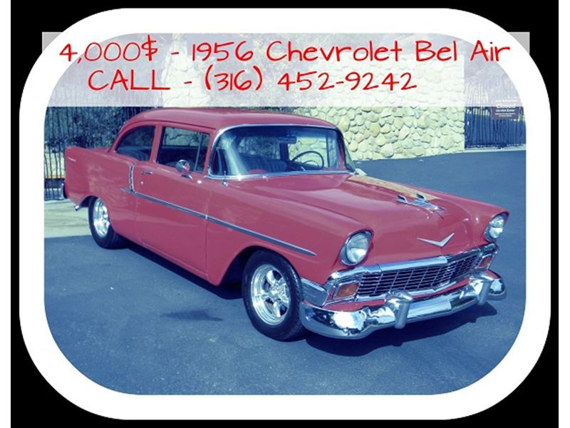 1956 Chevrolet Bel Air Antique Car Denver Co 80294