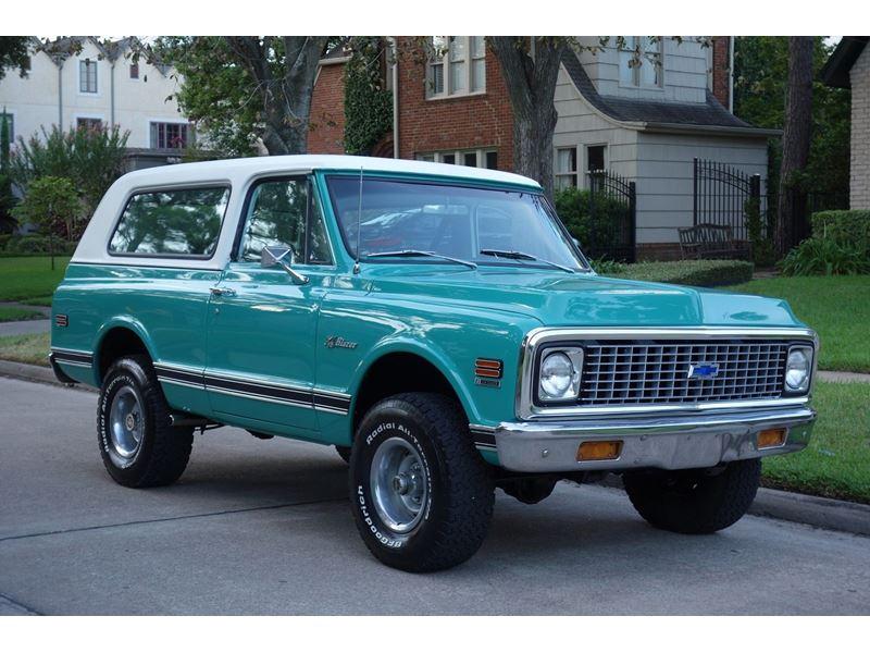 Private Car Sale In Houston Tx: 1971 Chevrolet Blazer K5
