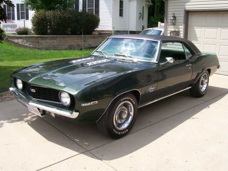 1969 chevrolet camaro classic car for sale by owner in bethel oh 45106. Black Bedroom Furniture Sets. Home Design Ideas