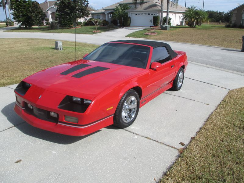 1990 chevrolet camaro classic car davenport fl 33897. Black Bedroom Furniture Sets. Home Design Ideas