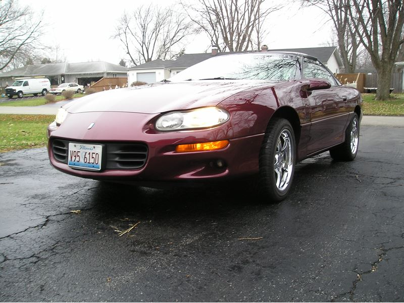2001 chevrolet camaro for sale by owner in plainfield il. Black Bedroom Furniture Sets. Home Design Ideas