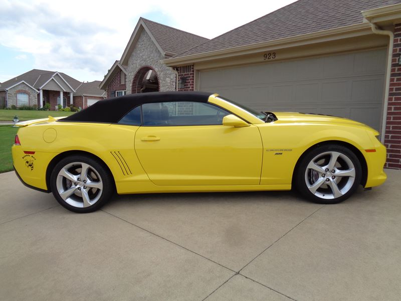 2014 Chevrolet Camaro For Sale By Owner In Bartlesville