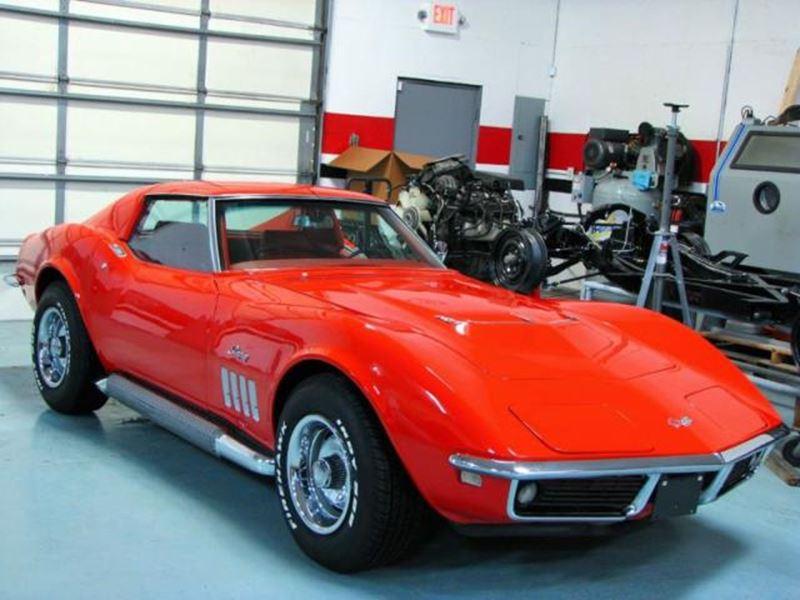 1969 chevrolet corvette antique car easton ct 06612. Black Bedroom Furniture Sets. Home Design Ideas