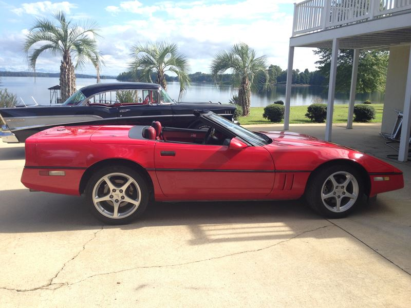 1989 chevrolet corvette classic car for sale by owner in seneca sc. Cars Review. Best American Auto & Cars Review