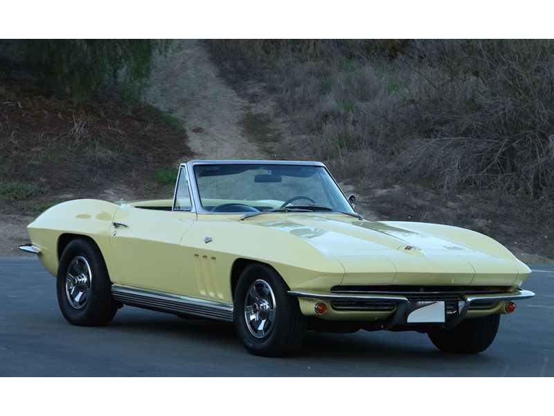 1966 chevrolet corvette stingray antique car new york ny 10286. Black Bedroom Furniture Sets. Home Design Ideas