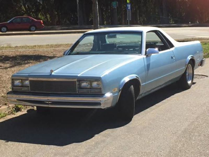 1986 Chevrolet El Camino for sale by owner in SAN FRANCISCO
