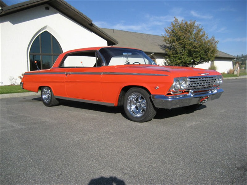 1962 chevrolet impala classic car by owner in spokane wa 99299. Black Bedroom Furniture Sets. Home Design Ideas