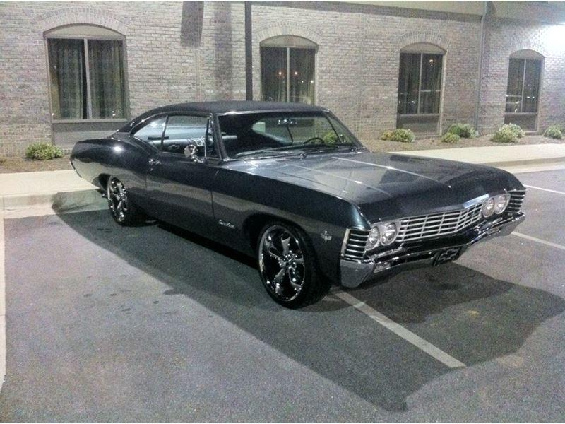 1967 chevrolet impala antique car kennesaw ga 31144. Black Bedroom Furniture Sets. Home Design Ideas