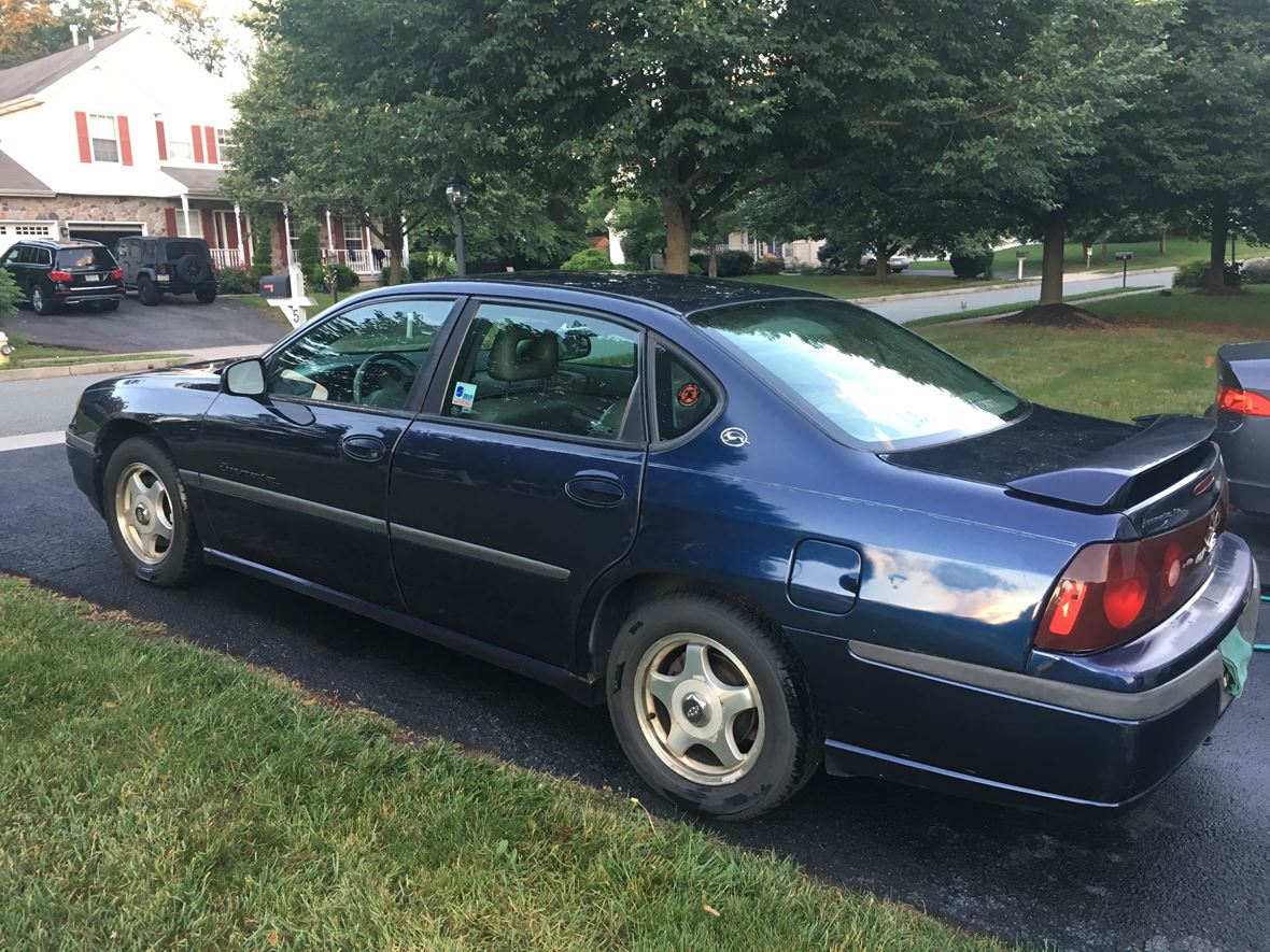 2000 chevrolet impala for sale by owner in pottstown pa 19464. Black Bedroom Furniture Sets. Home Design Ideas