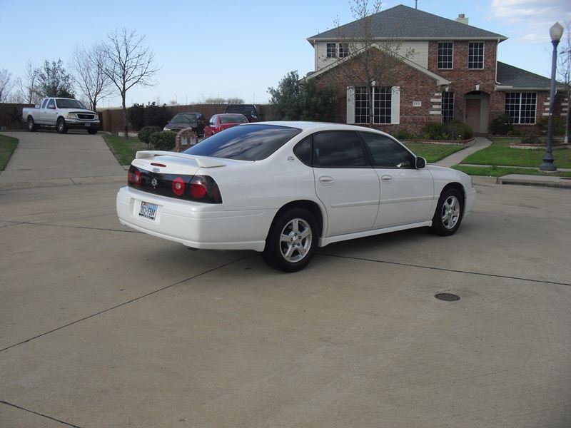 2005 chevrolet impala for sale by owner in forney tx 75126. Black Bedroom Furniture Sets. Home Design Ideas